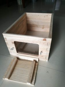 8-Frame Deep Observation Window Hive Body